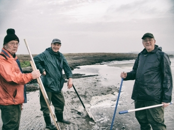 Från vänster, Tauno, Stig & Kaj