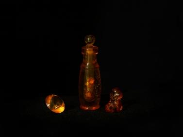 Flaska i bärnsten