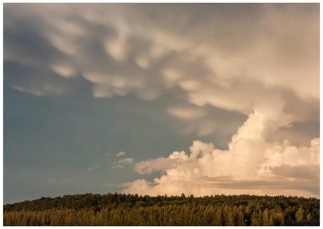 Häftigt moln över Skabersjö